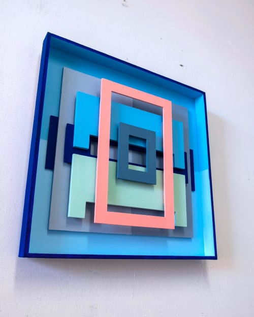 Paintings by Tom Hammer seen at Private Residence, New York - For All Time