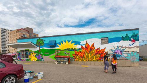 Pamela Rojas - Street Murals and Public Art