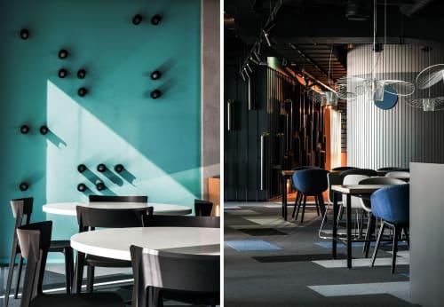 Interior Design by DA bureau seen at Workki City, Moskva - WORKKI Coworking Space