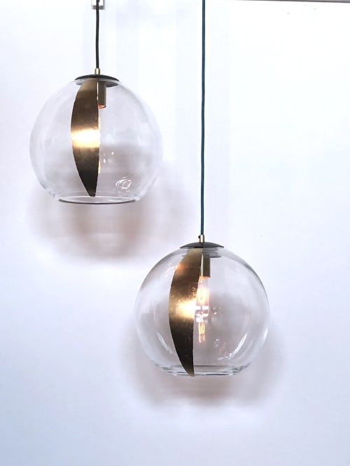 Helio Sphere Glass Pendant $750 by Lumi Design