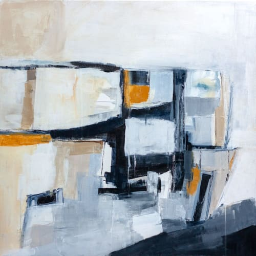 Paintings by Melanie Biehle seen at Atelier Drome Architecture + Interior Design, Seattle - To Be Free