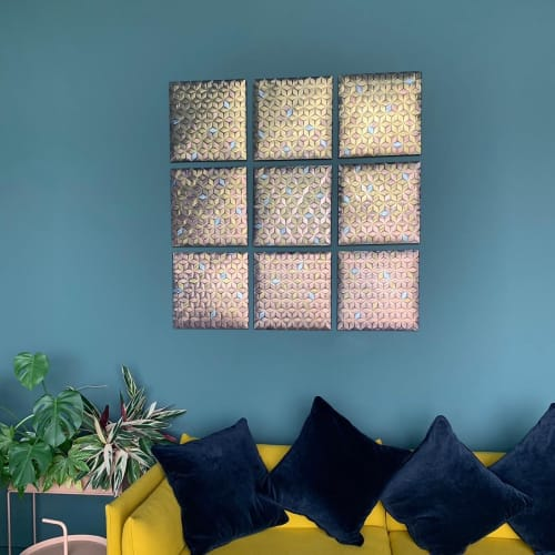 Art & Wall Decor by Fay McCaul seen at Private Residence, Whitstable - Aurora Tiles