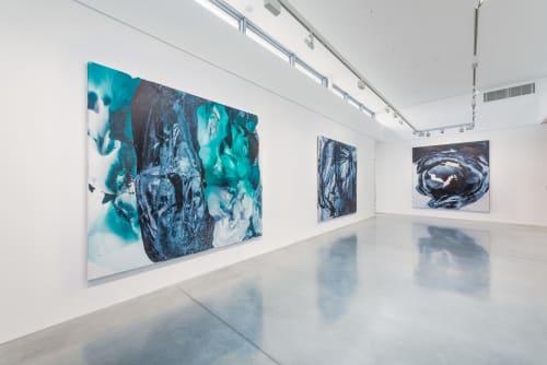 Paintings by Patricia Koysova seen at Creator's Studio, Bratislava - Zoom