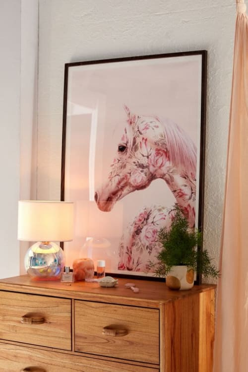 Photography by Paul Fuentes Design seen at United Kingdom, London - Floral Horse