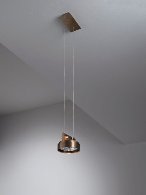 Pendants by Laurameroni Design Collection seen at Private Residence - Work Light Sospensione MA 05