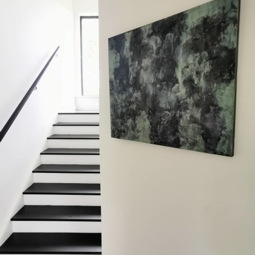 Wall Hangings by Joce & Co. Design seen at Private Residence - Midnight Forest
