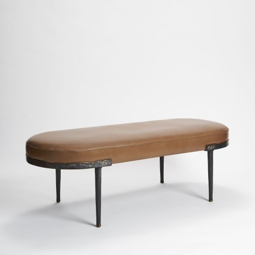 Benches & Ottomans by Antu-Made seen at Private Residence | Chicago, IL, Chicago - Lusio Bench