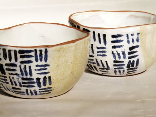 Ceramic Plates by Di Campagna seen at Private Residence, Rocha - Bowl