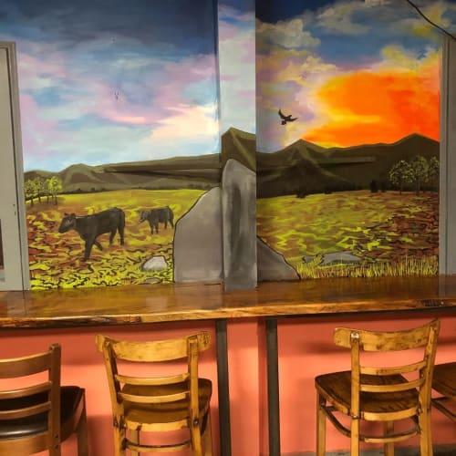 Murals by Sarah Elliott Alday seen at El Lemon LLC, Swannanoa - Mural