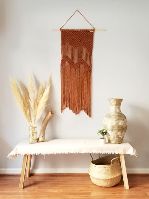 Macrame Wall Hanging by YASHI DESIGNS seen at Private Residence, Milpitas - The Mountains