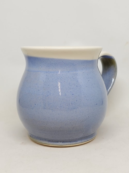 Cups by Penny Lane Pottery seen at Private Residence, Prince Albert - Light blue coffee mug