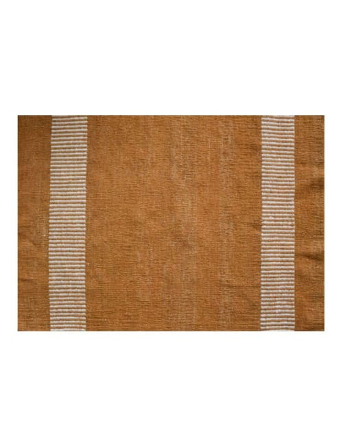 Rugs by Qadimi - Farzana in Amber Afghan Persian Kilim Rug