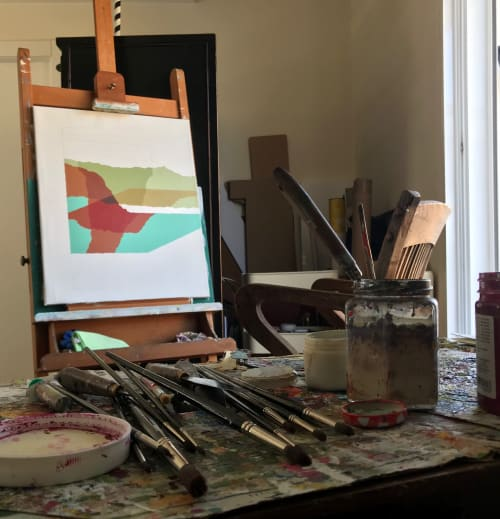 progression III | Paintings by Rafa Mateo