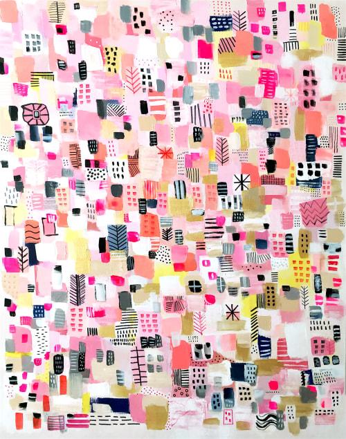 Paintings by Melanie Biehle seen at Seattle, Seattle - Harajuku