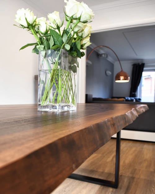 Tables by Handmade in Brighton seen at Private Residence, Spencers Wood - American Walnut Dining Table