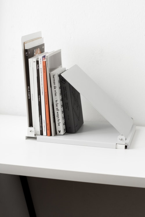 Furniture by Paolo Dell'Elce seen at Alla Carta Studio & Shop, Milano - Bumblebee Magazine holder