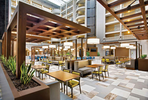 Lamps by Laspec Lighting -- Custom Lighting, Made in LA at Embassy Suites by Hilton Orlando Downtown, Orlando - Custom Public Space Lamps