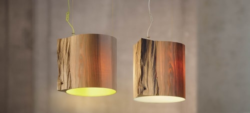 Wise One Pendant Light | Pendants by Marie Burgos Design and Collection