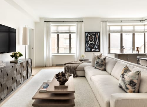 Interior Design by amy kalikow design seen at Private Residence, New York - Upper West Side Apartment