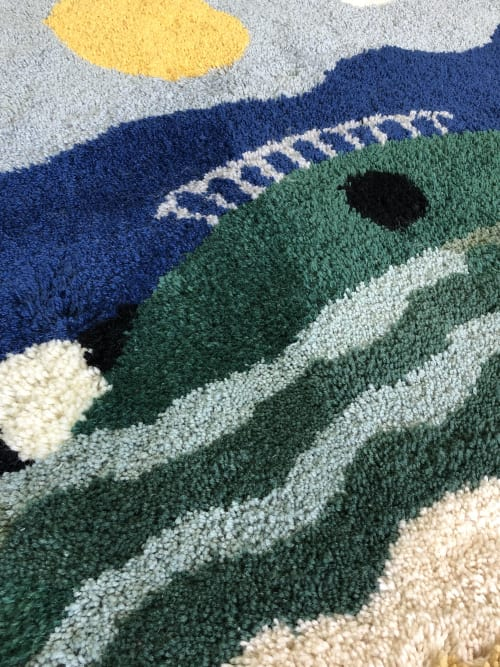 Rugs by Studio NAMA seen at Tel Aviv-Yafo, Tel Aviv-Yafo - 'UNDER THE CARPET' one of a kind rug