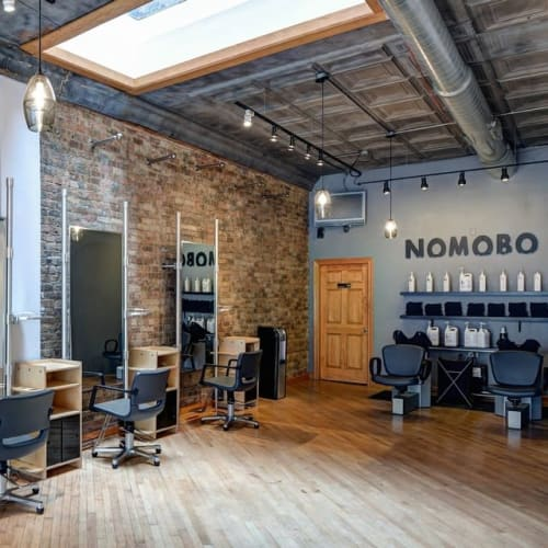 Pendants by Hennepin Made seen at Nomobo | Chicago Hair Salon, Chicago - Halo Cone Pendants