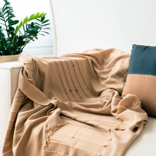 Linens & Bedding by Studio Variously seen at True North, Detroit, Detroit - Terra Throw