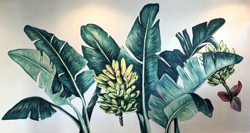 Street Murals by Charly Malpass Art seen at Huriyali, Charleston - Huriyali Banana Grove