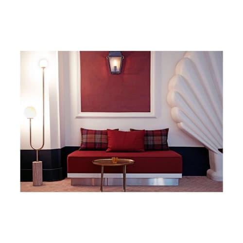 Lamps by Moda Piera seen at Hôtel des Grands Boulevards, Paris - Arancini Floor Lamp