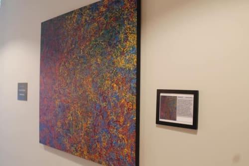 Paintings by Vincent Priblo Artwork seen at Cunneen-Hackett Arts Center, Poughkeepsie - Vincent Priblo