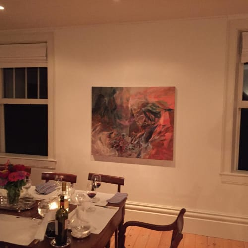 Paintings by Melanie Authier seen at Private Residence, Prince Edward - Abstract painting