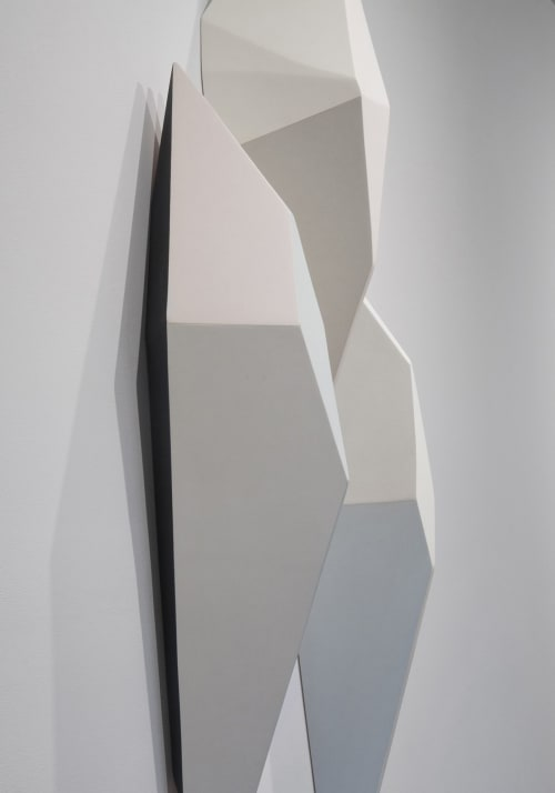 Sculptures by Dameon Lester seen at grayDUCK Gallery, Austin - Calving Sequences