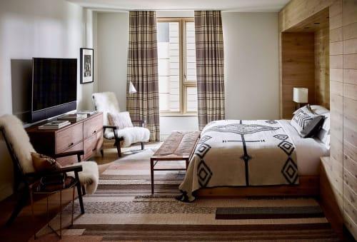Furniture by Daniel Gruetter Furniture and Objects seen at Caldera House, Teton Village - Walnut Dresser