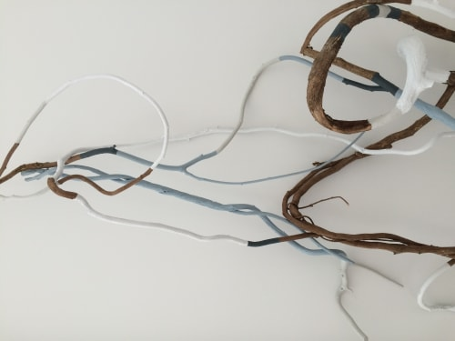 Sculptures by Christina Watka at Private Residence, The Hamptons, NY - Root System