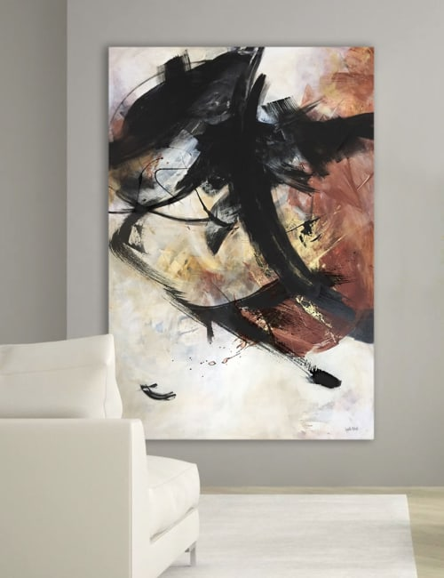 Paintings by Lynette Melnyk seen at Private Residence, Calgary - Express Your Dreams