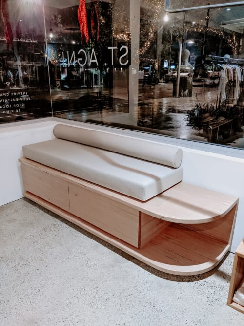 Benches & Ottomans by Oaklab Design seen at Alterior Motif - Noosa, Noosa Heads - Moon Bench