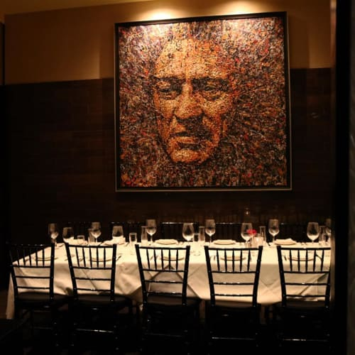 Paintings by Giovanni DeCunto seen at Strega, Boston - Paintings