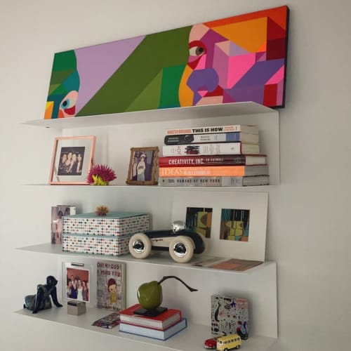 Art Curation by Moleiro Artwork seen at Private Residence, Los Angeles - Ella