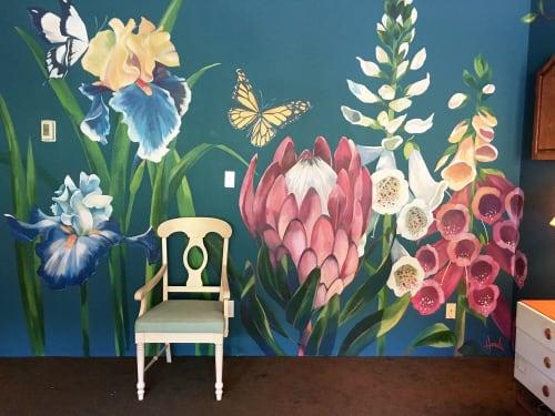 HARUKA ASHIDA OSTLEY - Murals and Paintings