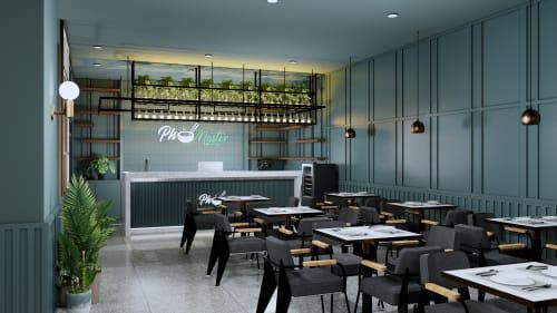 Interior Design by Studio Hiyaku seen at Pho Master, Parramatta - Pho Master