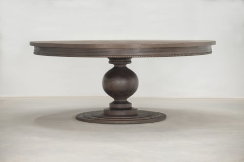 Tables by Graeber Design seen at Private Residence, Edmond - Grace Dining Table from solid Mahogany