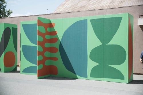 Art & Wall Decor by Cody Hudson seen at Hall of Flowers, Santa Rosa - Environmental Graphics