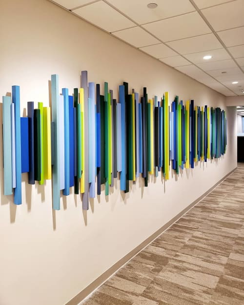 Art & Wall Decor by Erin Harris seen at Dallas, Dallas - 25ft Soundwave