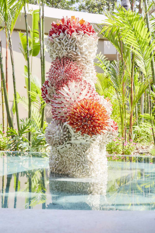 Sculptures by Zemer Peled Studio seen at JOALI Maldives, Maamigili Island - Maldive Vibes