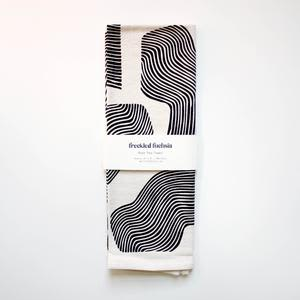 Tableware by Freckled Fuchsia seen at Private Residence, Portland - Rain Tea Towel