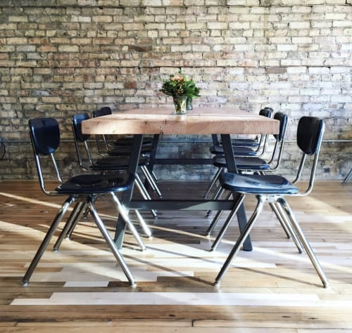 Tables by Urban Wood Goods seen at Evanston, Evanston - Modern Architect Dining Table or Conference Table