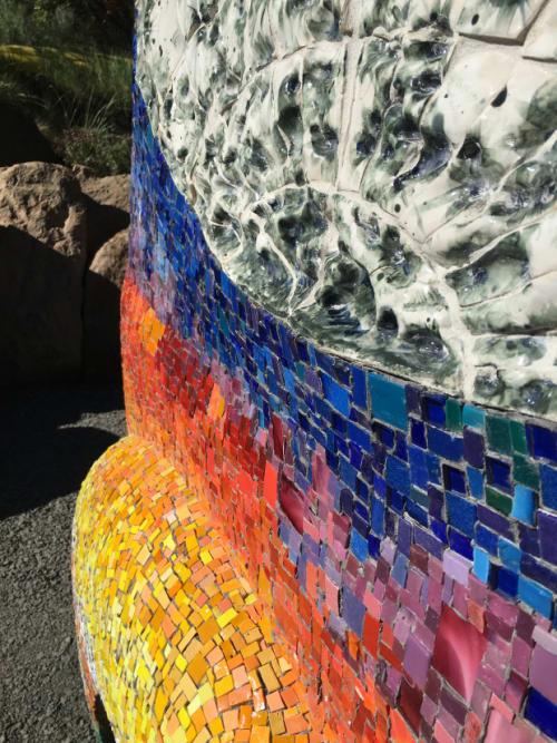 Public Sculptures by Laurel Porcari Art at Bend, OR Desert, Bend - Voyager