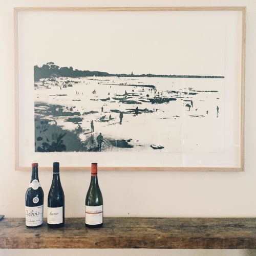 Paintings by Jane Forbes seen at Private Residence, Point Lonsdale - The Shallows
