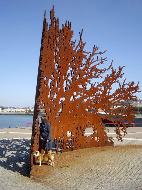 Public Sculptures by JUANJO NOVELLA     PUBLIC ART STUDIO seen at Sestao, Sestao - GURASOEEN ETXEA