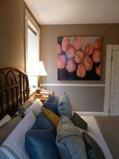 Paintings by Helene Steene seen at Private Residence, Lexington - Tulips