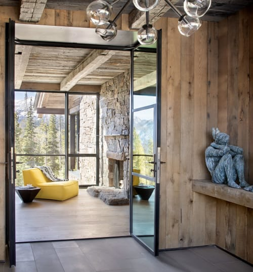 Interior Design by LKID seen at Private Residence, Big Sky, Big Sky - Wit's End